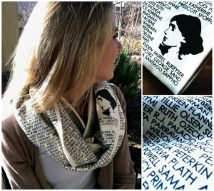 scarf collage color