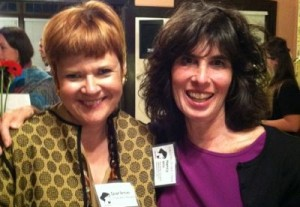 Darlene Chandler Bassett and Nancy Mills at the 2013 LA Fellowship Benefit Event
