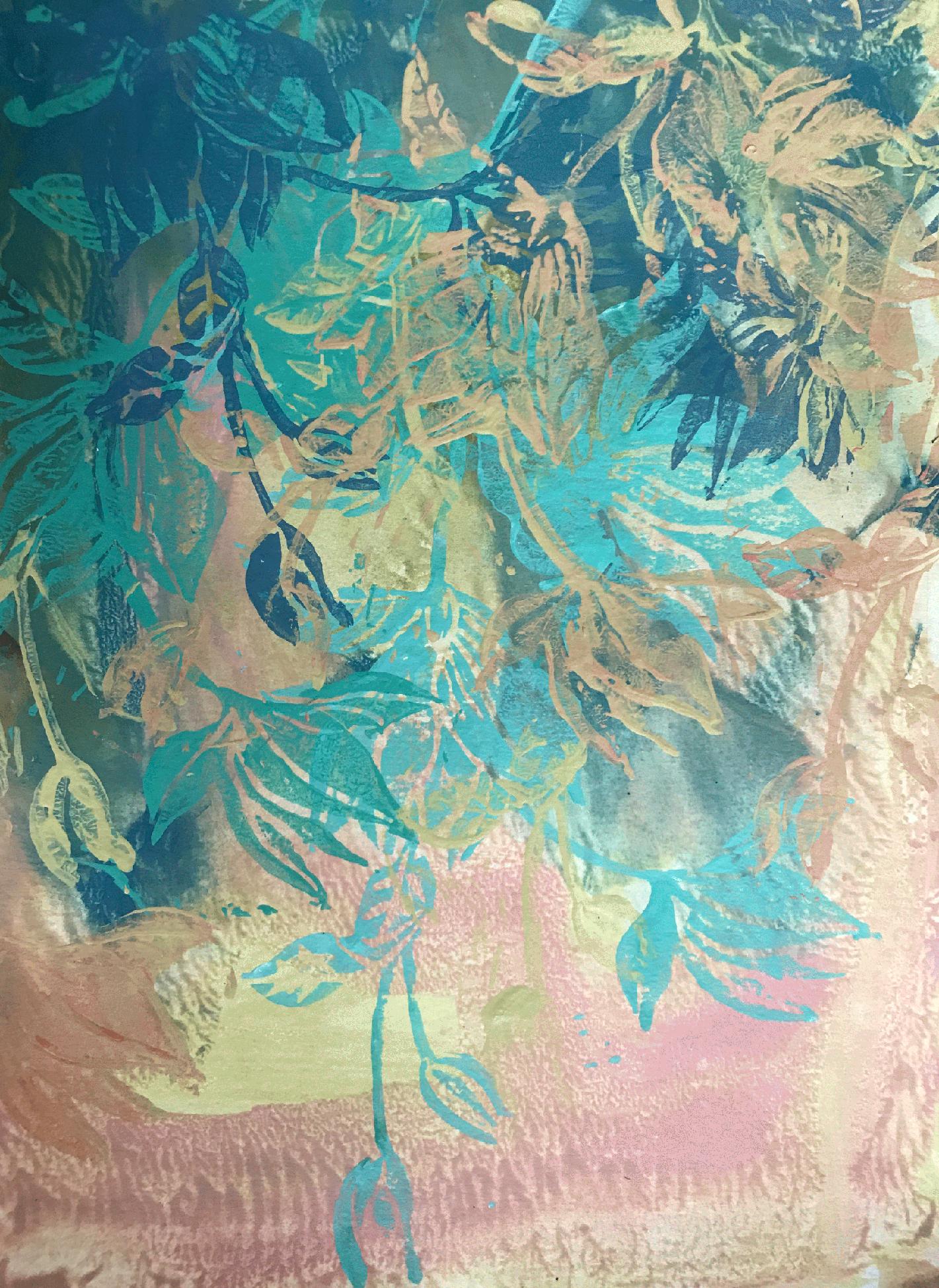 Magnolia 3 by Cynthia Yatchman